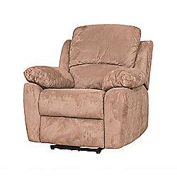 Sofa Collection Como Electric Recliner Armchair - 1 Seat - Medium Brown