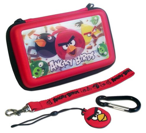 Angry Birds 3D Gamer Case 4pcs