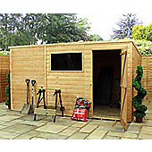 10ft x 8ft Tongue & Groove Pent Shed