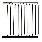100cm Gate Extension BLACK - For Safety Gates F190B/F191B- F845B - Dreambaby