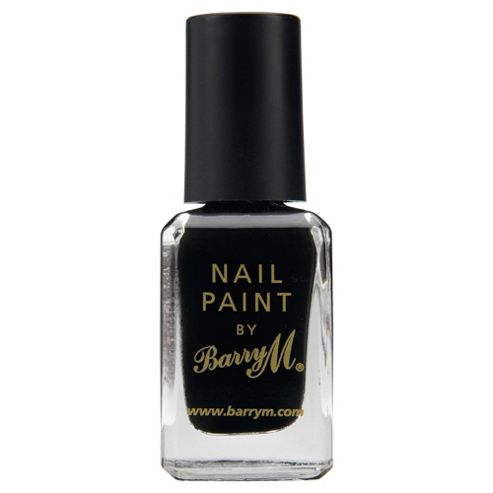 Barry M Nail Paint 47 - Black
