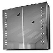 Yalena LED Bathroom Cabinet with Demister Pad, Sensor & Shaver k364