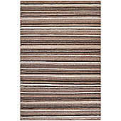 Husain International Tracks Knotted Rug - 120 cm x 180 cm (3 ft 11 in x 5 ft 11 in)