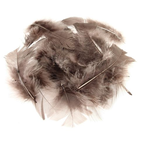 Feather Petals - Brown
