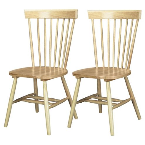 Dorset Pair of Dining Chairs Natural