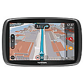 "TomTom Go 600 Sat Nav, 6"" LCD Touch Screen with European Maps"