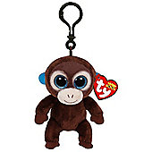 "Ty Beanie Boo Boos 3"" Key Clip - Olga the Monkey"