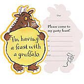 The Gruffalo Party Invitation Cards (10pk)