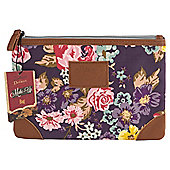 Dolland and Devaux Make Up Bag Floral