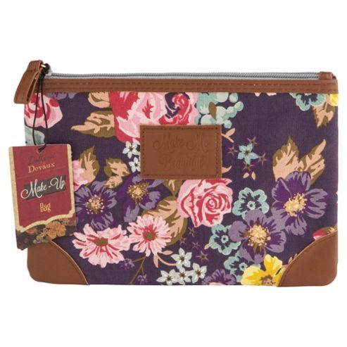 Dolland and Devaux Make Up Bag Floral