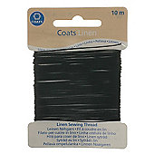 Coats Linen Thread - Black