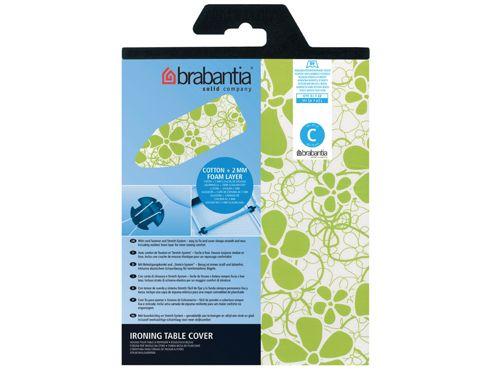 Brabantia 1914.80 Iron Board Cover Asstd 124X45cm