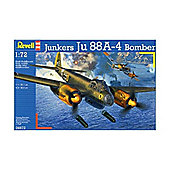 Junkers Ju 88A-4 Bomber 1:72 Scale Model Kit - Hobbies