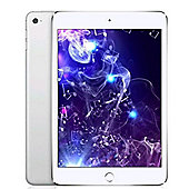 Apple iPad mini 4, 32GB with Wi-Fi + Cellular for Apple SIM - Silver