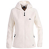 Trespass Ladies Jane Full Zip Fleece - White