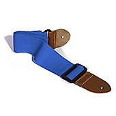 Soldier Adjustable Webbing Guitar Strap - Blue