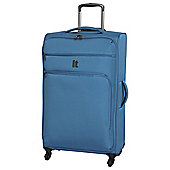 IT Luggage Megalite 4-Wheel Large Teal Suitcase