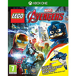 Lego Marvels Avengers Quinjet Minifig Xbox One