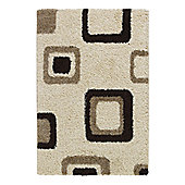 Oriental Carpets & Rugs Majesty Ivory Rug - 220cm L x 160cm W (7 ft 2.5 in x 5 ft 3 in)