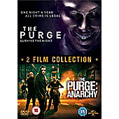 The Purge & The Purge Anarchy Boxset (DVD Boxset)