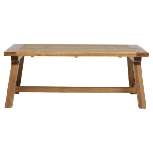 Buy Portobello Trestle Coffee Table Rustic Pine From Our Coffee Tables Range Tesco
