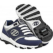 Heelys Surge Navy/White/Silver/Black Kids Heely Shoe - Blue