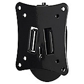 Hama Motion TV Wall Bracket for 10 to 26 TVs 5 Star XS - Black