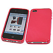 iTALKonline 11929 ProGel Skin Case - Apple iPhone 4 - Pink