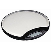 KitchenCraft Master Class Electronic Dry and Liquid Round Platform Scales