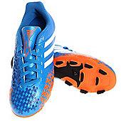 adidas Predito LZ TRX FG J Junior Football boots - Blue