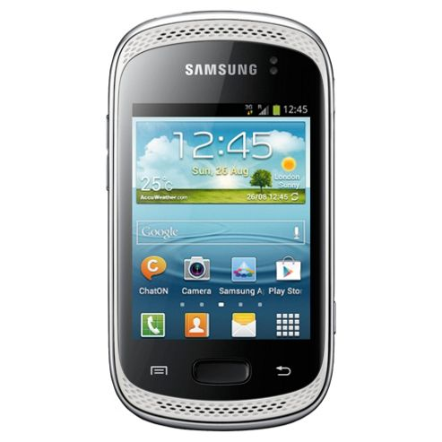 Unlocked Samsung Galaxy Music White -SIM Free