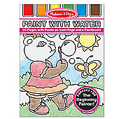 Melissa And Doug Paint with Water Kids' Art Pad Pink