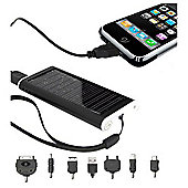 Portable Solar Charger for Mobile Phones/MP3 and More