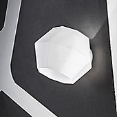 MA&DE Ottagono One Light Wall Bracket in Opal Glass