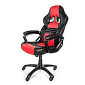 Arozzi Monza Gaming Chair Red High quality Thick padding on the arm wrists MONZA-RD