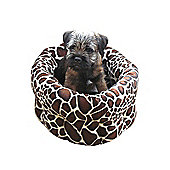 Rosewood Pet Products 40 Winks Animal Print Dog Bed