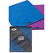 Microfibre Giant Travel Towel - Turquoise