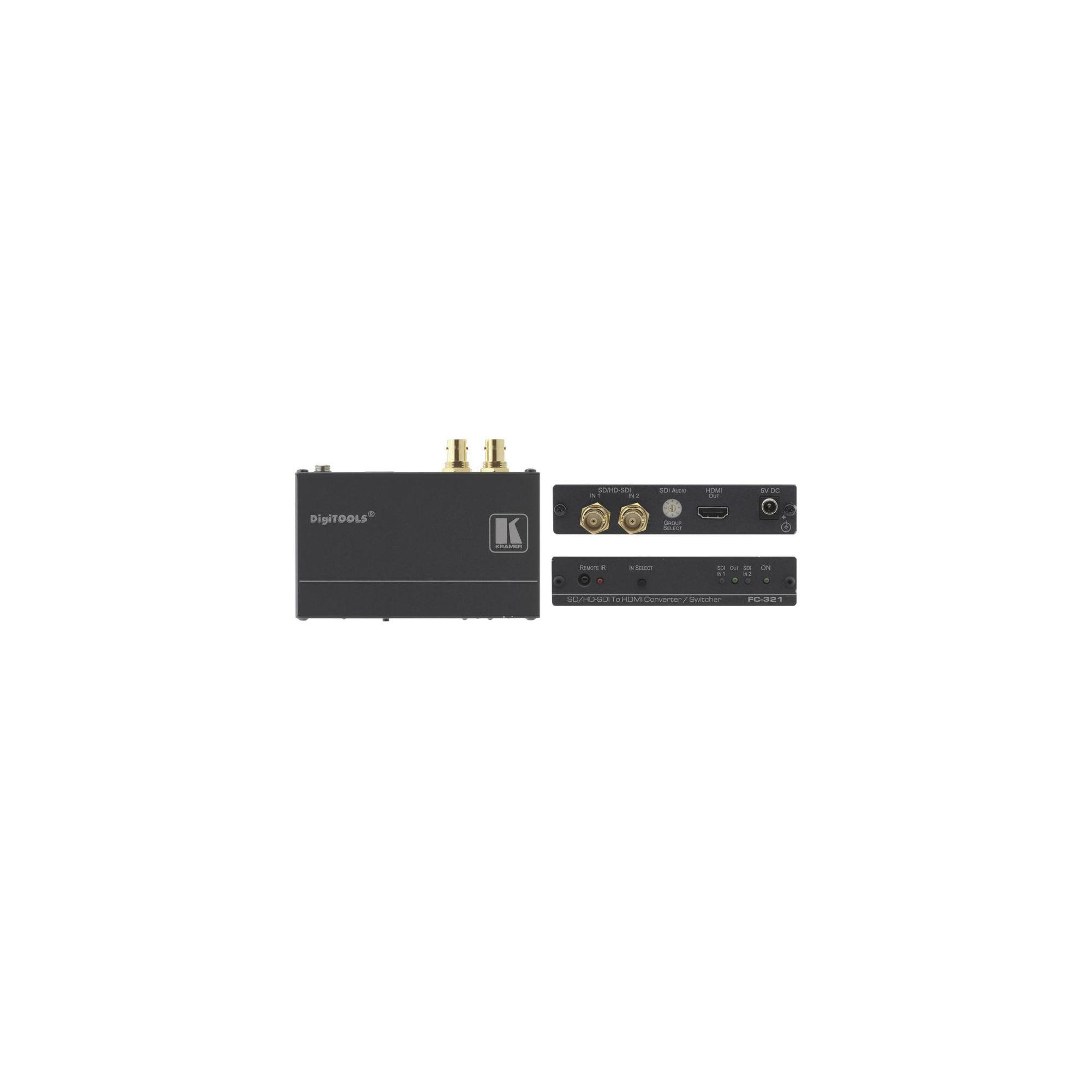 2X1 3G HD-SDI TO HDMI CONVERTOR at Tesco Direct