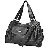 Vanchi Fleetwood Carry All Changing Bag Blackbird
