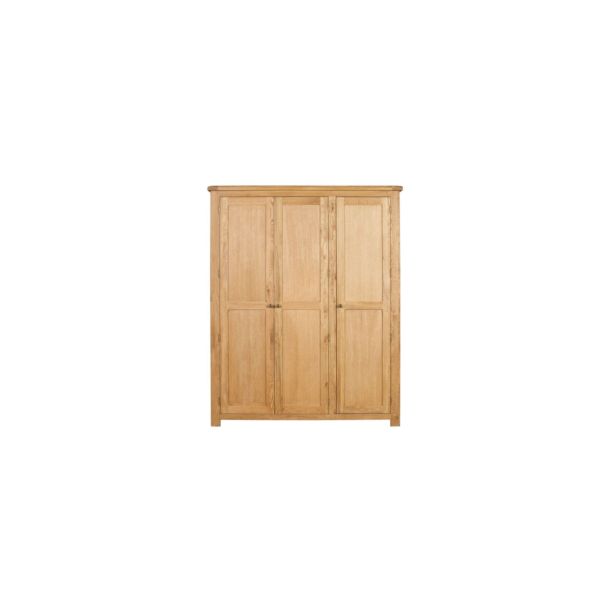 Elements Woodville Three Door All Hanging Wardrobe at Tesco Direct