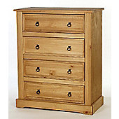 Home Essence Windmill 4 Drawer Chest