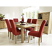 Originals UK Cubistic 5 Piece extending dining set