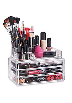 Beautify 11 Section Cosmetics Make Up Drawers Organiser