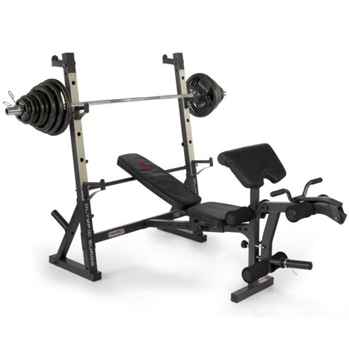 Buy Marcy Diamond Elite Olympic Weight Bench With 140kg Weight Set From Our Weight Benches Range