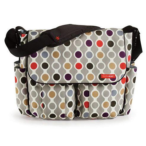 Skip Hop Dash Deluxe Edition Changing Bag Wave Dot