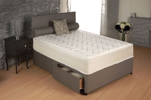 Buy vogue beds memory touch pocket oasis 1000 platform for Single divan bed without mattress