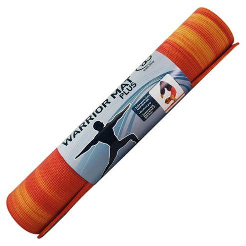 Yoga-Mad Warrior Plus Fire Yoga Mat, 6mm