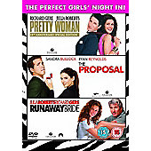 The Perfect Girls Night In - Pretty Woman/The Proposal/Runaway Bride - DVD