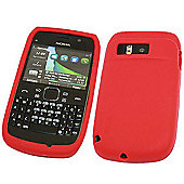 SoftSkin Silicone Case - Nokia E6 (Red)