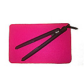 Heat Resistant Straightening Iron Protection Mat Cerise Pink